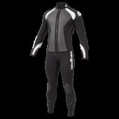 Гидрокостюм с курткой LONG JOHN VELOCITY, черный