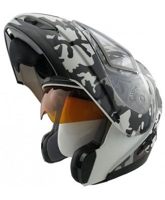 Шлем модулярный снегоходный Legion LEO SNOWHUNTER Electric DL 2014